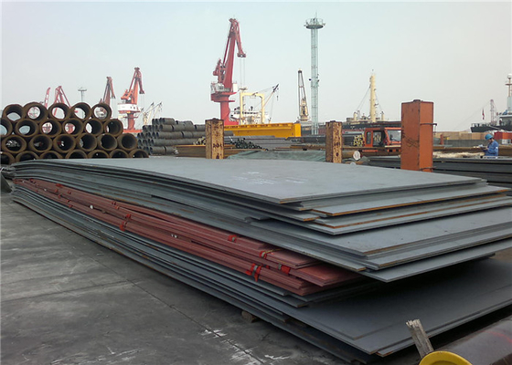 High Intensity ASTM A36 Hot Rolled Steel Plate For Shipping / Bridges